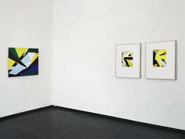 02 Galerie_Ulrich_Mueller_ingo_Nussbaumer_Raumansicht