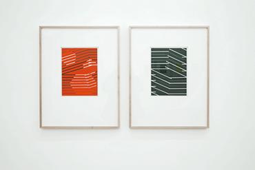 06_Aquarell_Ausstellung_Galerie_artmark_Homme_Solitaire_Ingo_Nussbaumer