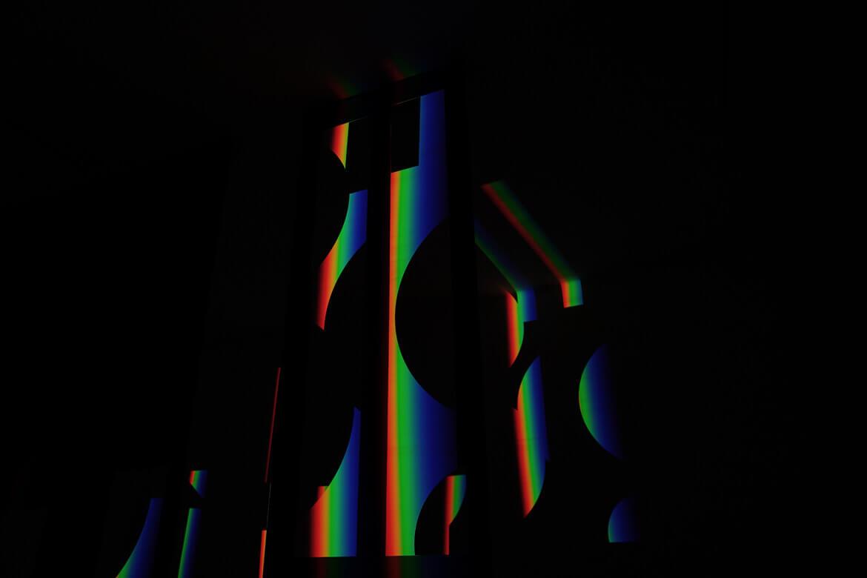 Detail eines Lichtobjektes von Ingo Nussbaumer