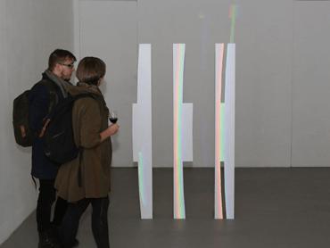 09_Lichtinstallation_Vernissage_Ingo_Nussbaumer_Galerie_Vartai_Litauen