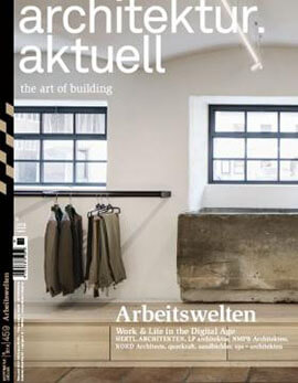Cover des Magazins: architektur aktuell