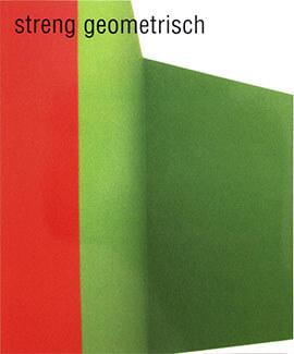 Zeigt das Cover: streng geometrisch