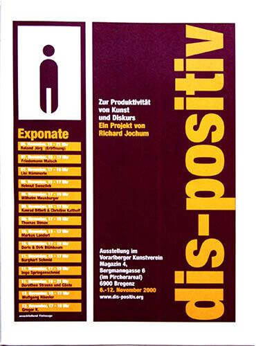 Titelbild des Magazins dis-positiv