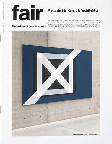 Zeigt das Cover des fair Magazins, welches einen Artikel von Ingo Nussbaumer enthält