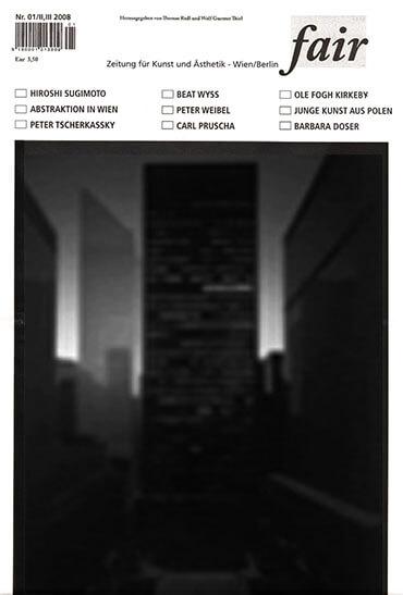 Cover des fair Magazins, in dem der Essay