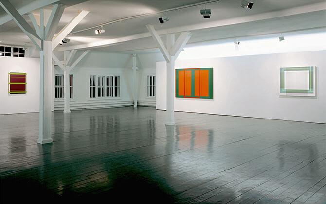 Link zum Bereich Malerei: das Werk gliedert sich in verschiedene Serien. Eine Auswahl wird vorgestellt.