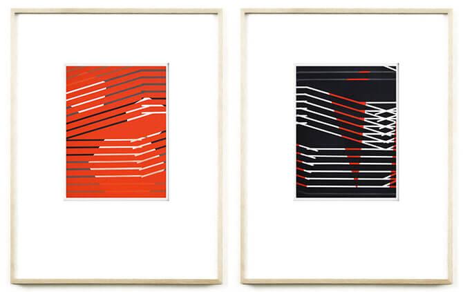 Zeigt das Einladungsbild von Ingo Nussbaumer zur Gruppenausstellung