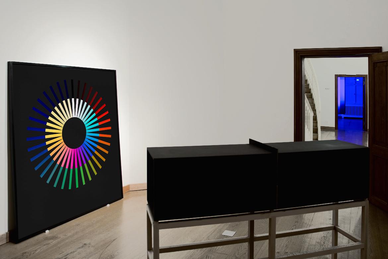 Farbkreis von Ingo Nussbaumer in der Kunst-Installation
