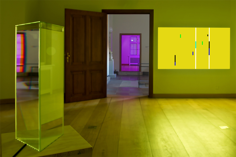 Prisma im Raum 2 von Ingo Nussbuamer der Ausstellung