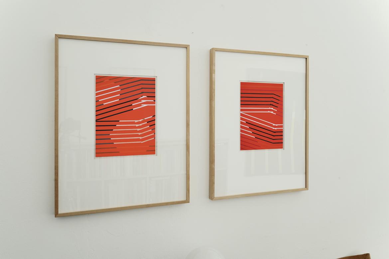 09_2 Aquarelle_rot cp0229_cp0236_Ausstellung_Ingo_Nussbaumer_Galerie_Ulrich_Mueller_Koeln_2020